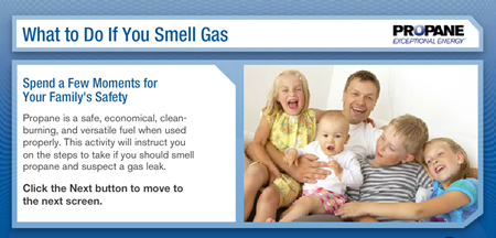 I Smell Natural Gas In My Car